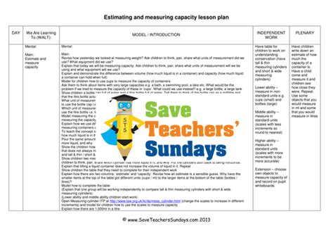 measuring capacity ks1 worksheets and lesson plans 2