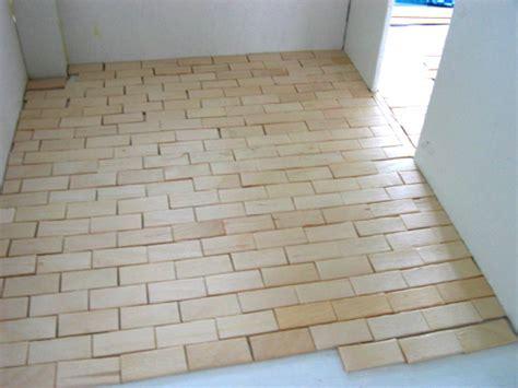 install ceramic floor tiles diamond brick shape per sqm