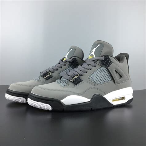 Cool Grey Air 4 For Sale by Air 4 Cool Grey Chrome Charcoal Varsity Maize For Sale New Jordans 2018
