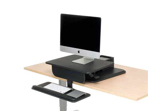 convert desk to standing workstation best standing desk uplift converter sit stand workstation
