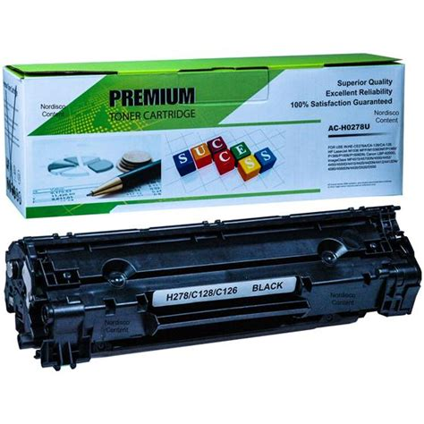 Cartridge Toner Compatible Remanufacture Hp Ce278a h278 ac h0278u compatible with hp 78a ce278a black laser toner cartridge 2100 page yield