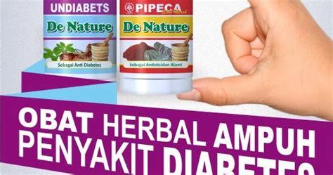 Obat Diabetes Melitus Herbal Undiabets Pipeca De Nature 1 harga obat diabetes kencing manis herbal di apotik