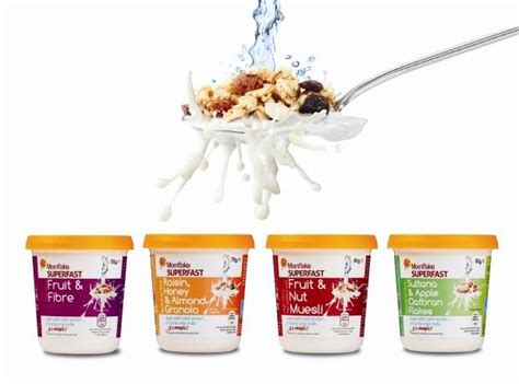 mornflake launches cereal pots  dont  added milk