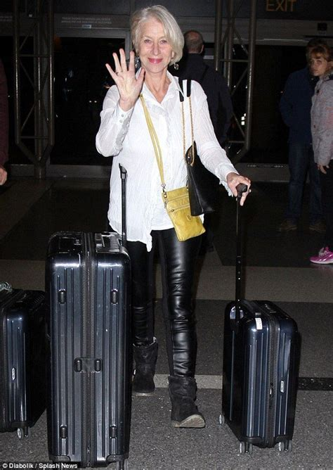 Lindya Pant helen mirren airports and trousers on