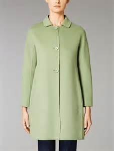 Fashion Hc Bag Studios Single Bag wool and angora coat green quot saveria quot max mara
