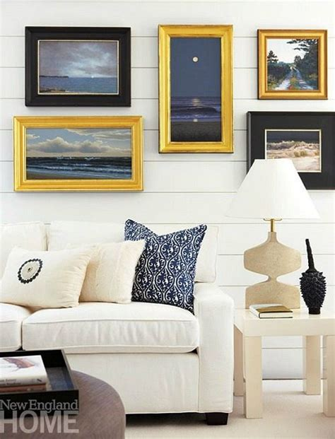pictures above sofa inspiring beach wall decor ideas for the space above the