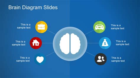 Free Brain Diagram Slides Slide Template In Powerpoint