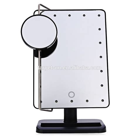 20x magnifying mirror with light aa batteries operate led makeup mirror 20x magnifying