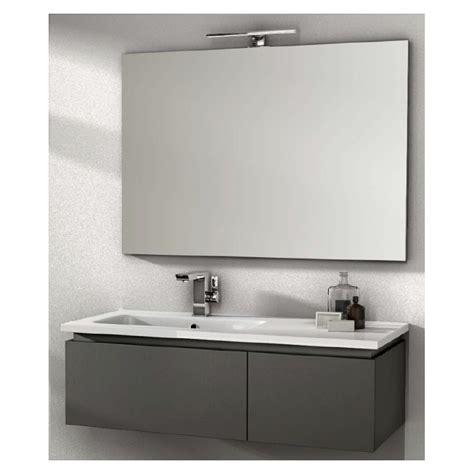 bagni grigi finest mobile da bagno sospeso cm grigio con lavabo in