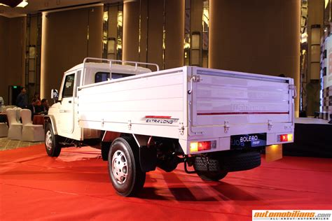 automobilianscom mahindra big bolero pik  launched