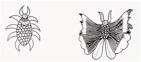 desain gambar tumbuhan contoh motif batik hewan contoh waouw