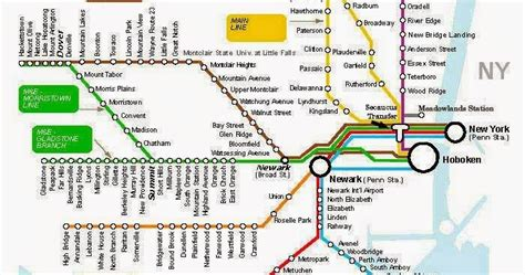 printable w 9 nj maps of newark new jersey train lines free printable maps