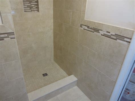 Bathroom Tile Floor Wall Transition Slide Show Complete Schluter Systems Bathroom Framing