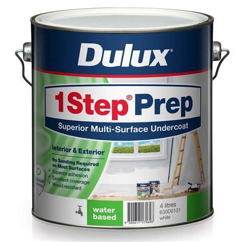 Dulux Water Seal Dulux 4l Water Based 1 Step Prep Primer Sealer Undercoat