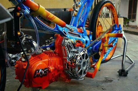 design grafis vespa airbrush collection design extreme funky motor