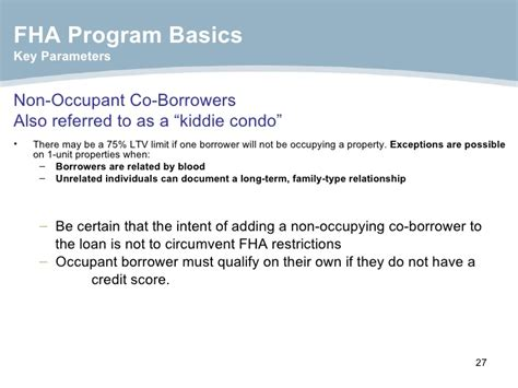 Fha Loan Letter Of Explanation Fha Presentation 2009