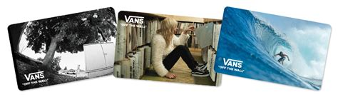 Vans Gift Card - vans gift cards e gift cards use in store or online