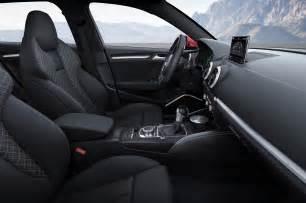 2015 Audi A3 Interior 2015 Audi A3 E Prototype Drive Photo Gallery