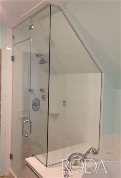 Ceilings Angled Ceilings And Doors On Pinterest Roda Shower Door