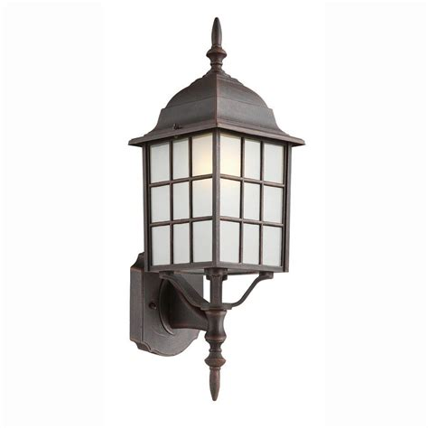 Coach Lights Outdoor Bel Air Lighting Cityscape 1 Light Outdoor Rust Coach Lantern With Frosted Glass 4420 Rt The