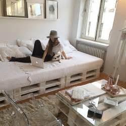 lit en palette 50 id 233 es pour fabriquer un lit en palette