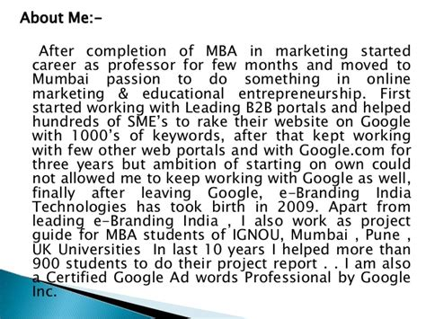 I Am Studying Mba by Mba Project Report Of Nmims Global Access