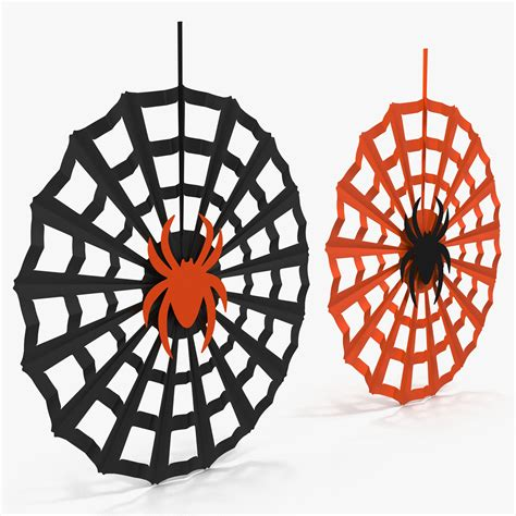 Decorations Spider Web by Spiderweb Decoration 3d Model