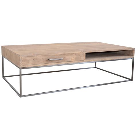 coffee table with metal bar legs no 44 furniture