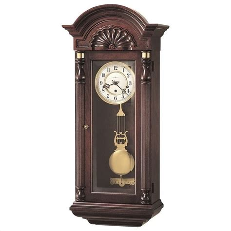 Old Chaise Lounge Howard Miller Jennison Key Wound Wall Clock 612221