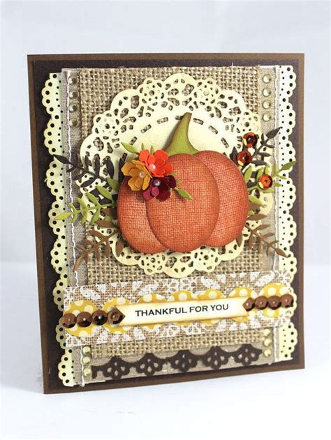 Thanksgiving Cards Handmade - 78 best ideas about handmade thanksgiving cards on