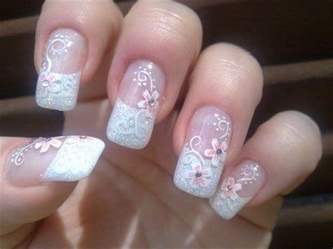 imagenes como decorar uñas 19 preciosos dise 241 os de u 241 as para novias makeuplatino