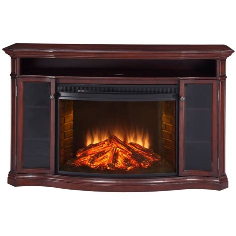 Electric Fireplace Discount by Wall Mounted Electric Fireplace In Beveled Edge Mirror