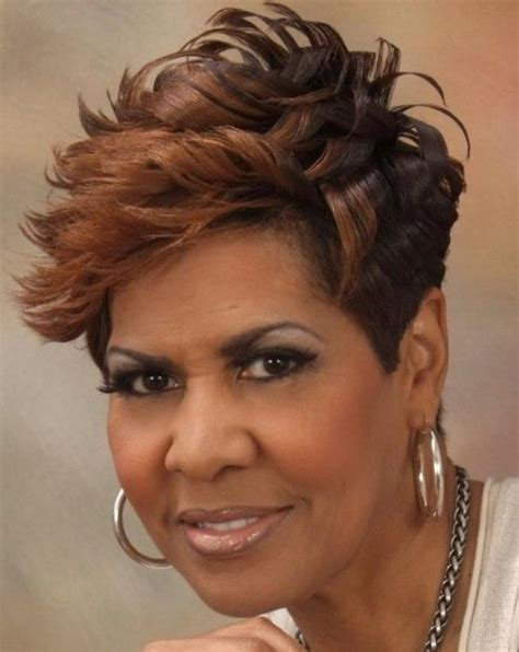 short hairstyles for women in their 40s african american 5 awesome short haircuts african american over 40 cruckers