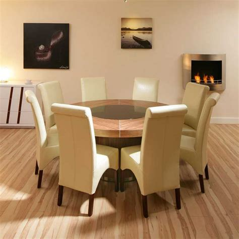 dinning dining table and 8 chair sets 10 piece dining room set full circle perfect 8 person round dining table homesfeed