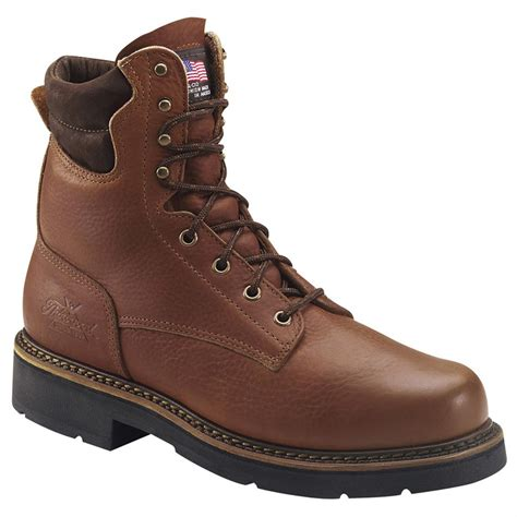 thorogood boots s thorogood 174 8 quot american heritage boots tobacco