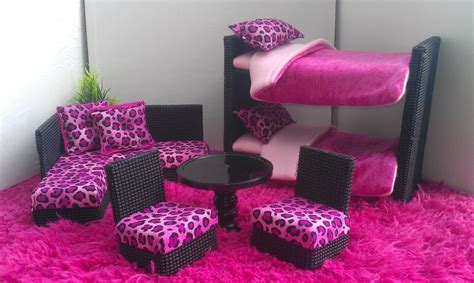 barbie doll beds new bunkbeds for barbie or monster high dolls complete