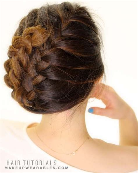 Easy Hairstyles For Medium Hair For Beginners by 30 Braid Hairstyles