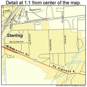 sterling colorado map 0873935