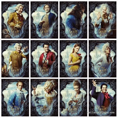 beauty and the beast cast the good the bad the ugly beauty and the beast 2017