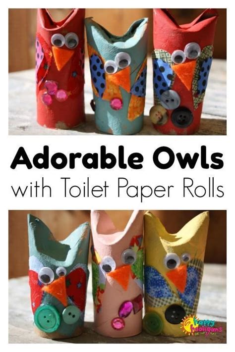 Crafts With Toilet Paper Rolls For Preschoolers - 165 best crafts with recycled materials images on