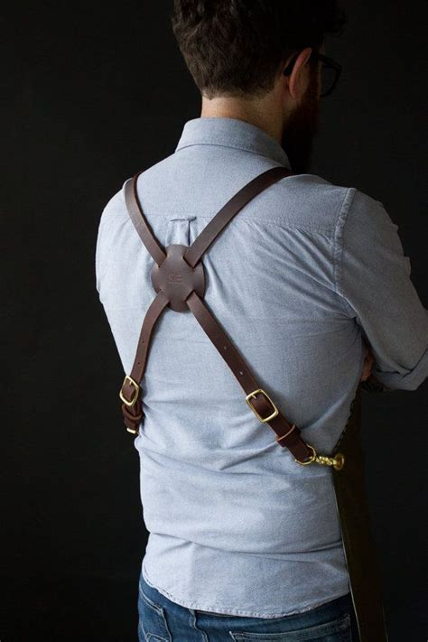 Set Suspender Brown Pant 1 1000 ideas about leather suspenders on