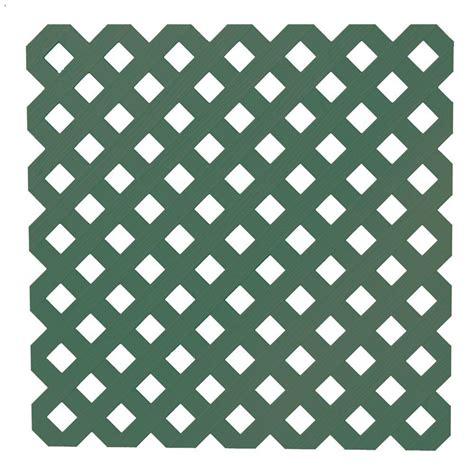 veranda lattice veranda 0 2 in x 48 in x 8 ft woodland green privacy