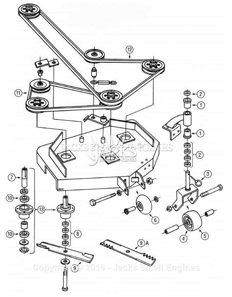 exmark deck belt diagram exmark viking deck parts diagram for viking deck