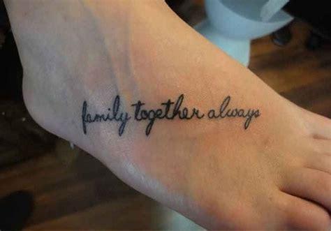 family tattoo foot 35 encouraging family tattoos creativefan