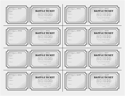 Raffle Tickets Free Certificate Templates In Tickets Certificates Category Raffle Certificate Template