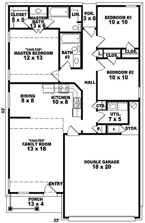 Logan Hill Ranch Home Plan 087D-0016 | House Plans and More