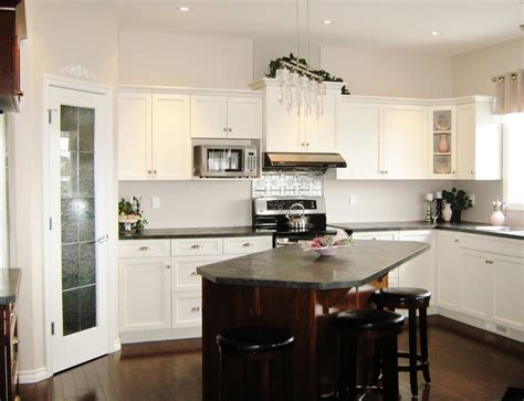 kitchen island with one wall kitchen layout with island kitchen design