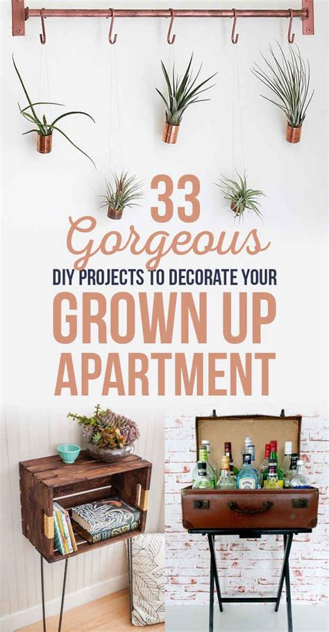 diy projects apartment 33 gorgeous diy projects to decorate your grown up
