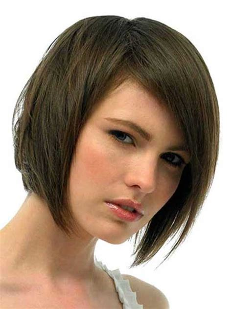 short layered hairstyles for thick hair layered bob with bangs for thick hair the best short