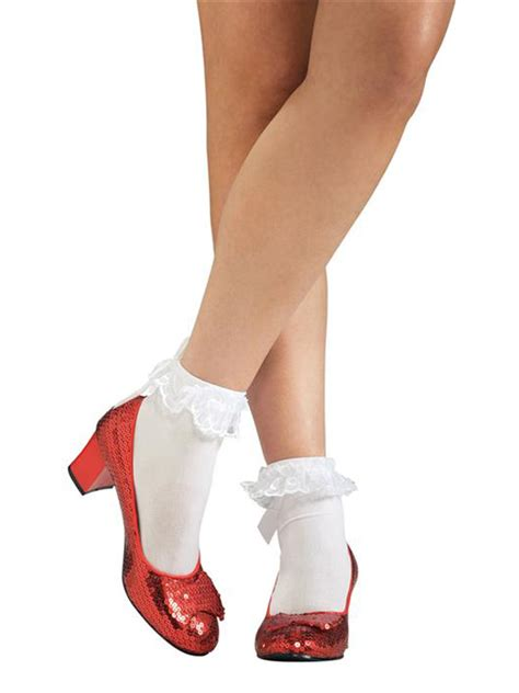 ruby slippers for adults dorothy ruby slippers fancy dress costume wizard of